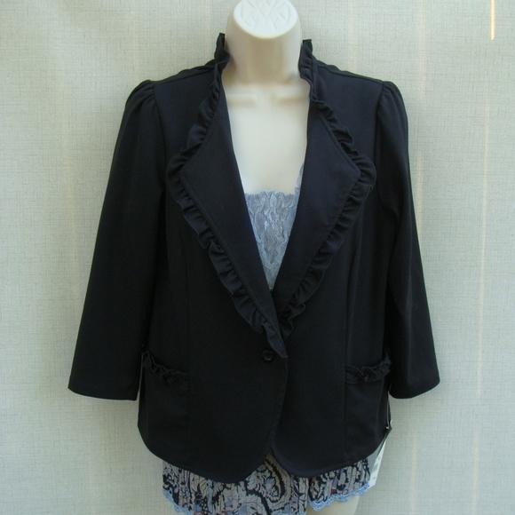 NY Collection Jackets & Blazers - NY Collection L black blazer new